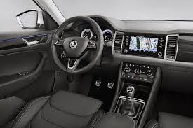 renault caravelle interior 2017 skoda kodiaq interior revealed