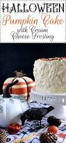 halloween pumpkin cake with cream cheese frosting lord byron u0027s