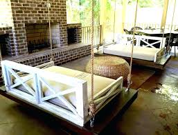 outdoor floating bed outdoor hanging porch beds image of porch swings design outdoor