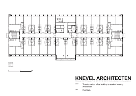House Plans Nl by Gallery Of Student Housing In Elsevier Office Building Knevel