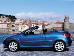 peugeot 206 convertible peugeot 206 cc 2003 pictures information u0026 specs