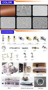 modern latest design stainless steel door front door designs