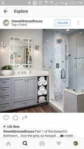 Grey Bathroom Ideas by 102 Best Bathroom Decor Images On Pinterest Bathroom Ideas