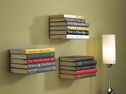 here u0027s how to make your own invisible bookshelves to float around
