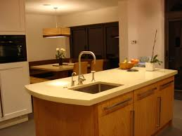 kitchen island worktop curved kitchen island with drainer grooves by the marble