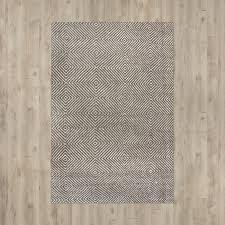 Woven Cotton Area Rugs Marcelo Flat Woven Cotton Gray Area Rug Reviews Allmodern