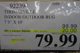 7 X 10 Outdoor Rug Outdoor Rugs Costco Jonlou Home