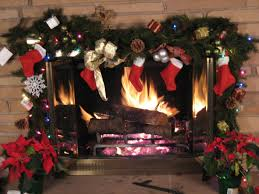 1 hour christmas fireplace in hd youtube