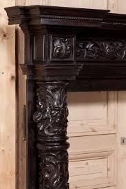 antique italian baroque fireplace mantel surround at 1stdibs