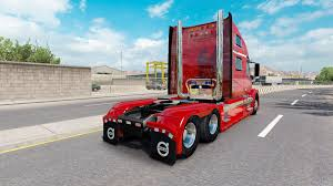 volvo 2017 truck red fantasy v2 0 for volvo truck vnl 780 for american truck simulator