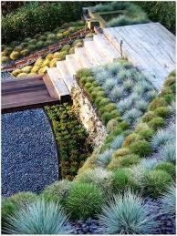 Sloping Backyard Ideas Backyards Ergonomic Landscape Design Ideas Sloped Backyard