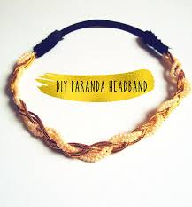 paranda hair accessory diy paranda headband how to braid a headband jewelry on cut