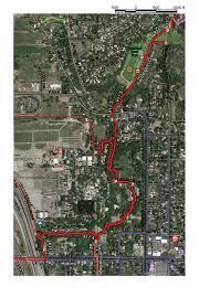 Buffalo Creek Trail Map 11 3 11 4 Farmington Creek Trail U2013 City Section U2013 Farmington City