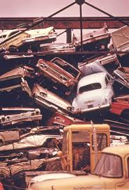Vintage Ford Truck Junk Yards - project documerica u2013 1970s epa automotive junkyard images the