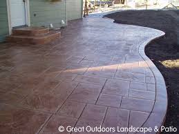 patio after concrete patios unique concrete design moline patio