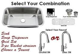 Kitchen Sink Combo - combination proh vanity sinks