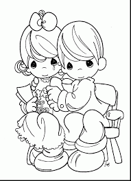 excellent precious moments coloring pages printable with love