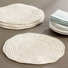 outdoor placemats for round table placemats for round tables wayfair