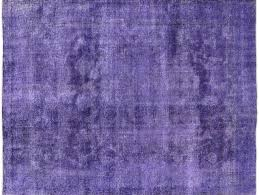 10 X12 Area Rug Tabriz Collection Purple Wash Overdyed Hand Knotted 10 U0027x12 U0027 Wool