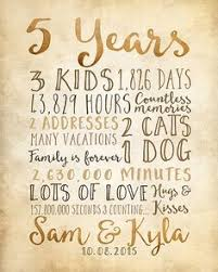 5th anniversary gifts for him free anniversary printables happy house of 5 i