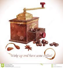 Old Fashioned Coffee Grinder Old Coffee Grinder Stock Illustrations U2013 553 Old Coffee Grinder