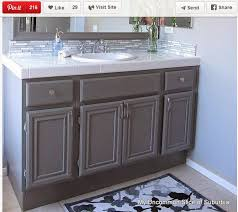 How To Paint Bathroom Mcentire House Makeover How To Paint Bathroom Cabinets