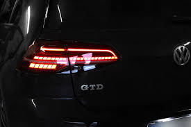 vw led tail lights kit led rear lights for vw golf 7 with dynamic turn signal