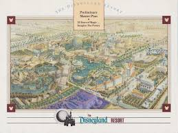 Disney California Adventure Map A Long Time Coming The History Of Disneyland U0027s Hotel Expansion