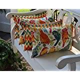 Patio Pillow Covers Amazon Com Decorative Pillows Patio Lawn U0026 Garden