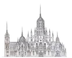 gothic architecture drawing simple gothic architecture drawing on cool gothic architecture