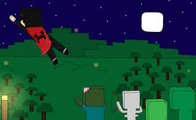 captainsparklez minecraft captainsparklez fan art survival by celgirl101 on deviantart