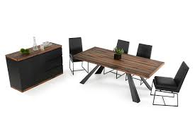 Modern Wooden Dining Sets Modrest Norse Modern Ship Wood Dining Table
