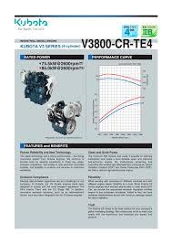 v3800 cr te4 kubota engine pdf catalogue technical