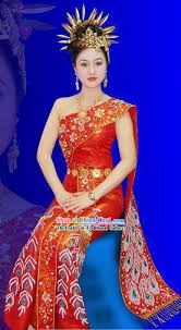 thai wedding dress thailand clothing traditional thai style dresses thailand national
