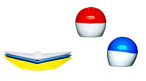 Nautical Themed Dinnerware Sets - paper boat dinnerware sets nautical theme party table decoration