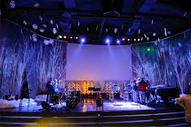 Stage Decoration Ideas Images About Christmas Stage Ideas On Pinterest Design And Church