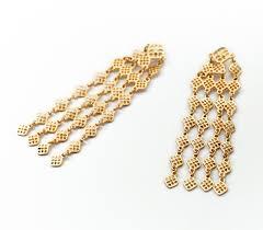 stylish gold earrings size gold earrings fashionable gold costume earrings