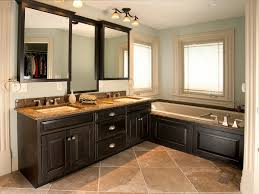 divine vanity for custom bathroom cabinets design with triple wall
