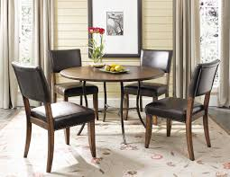 hillsdale cameron dining table hillsdale cameron 5pc wood and metal dining set w parsons chairs
