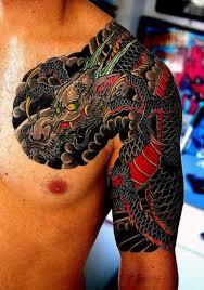 53 best dragon shoulder sleeve tattoos images on pinterest