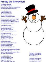 frosty snowman lyrics