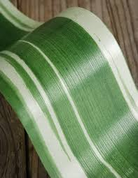 leaf ribbon aspidistra decor green leaf ribbon mangetsu waterproof ribbon 4