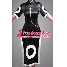 Sakura Halloween Costume Free Shipping Naruto Haruno Sakura Black Satin Dress Cosplay