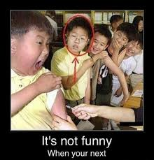 You Re Not Funny Meme - its not funny when youre next