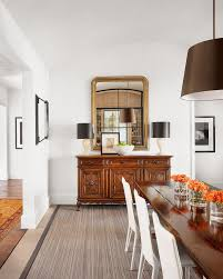 sideboard buffet in dining room contemporary with buffet lamps