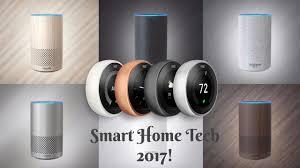 smart home technology smart home tech 2017 part 2 amazon echo 2nd gen nest thermostat