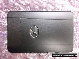 lexus credit card smart key lexus is250 is350 2009 2013 oem genuine smart card key 89904