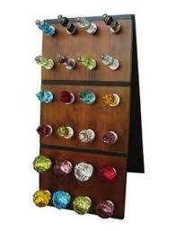 custom made wine bottle stopper display rack wine bottle