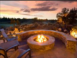 Outdoor Fireplaces And Firepits Outdoor Fireplaces And Pits That Light Up The Duke