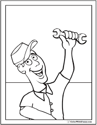 35 fathers coloring pages print customize dad